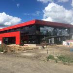 Construction du siège du Groupe NICOLETTA à AUGNY de 1400 m2 en tant que Contractant général
